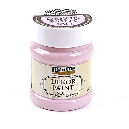 Dekor Paint Soft-- viktoriánska ružová 230 ml****