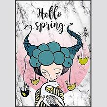 Grafika - Hello Spring - 8064670_
