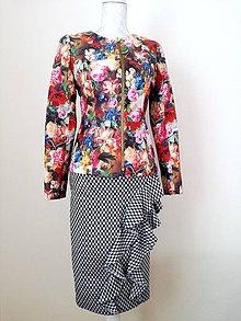 Kabáty - Originálna koženková bundička - 8063515_