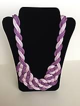 Náhrdelníky - Uzlový náhrdelník - 8063473_