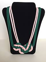 Náhrdelníky - Uzlový náhrdelník - 8063482_