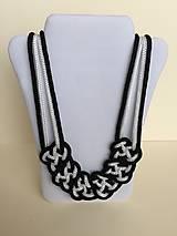 Náhrdelníky - Uzlový náhrdelník - 8063489_