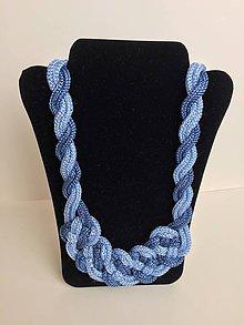 Náhrdelníky - Uzlový náhrdelník - 8063238_