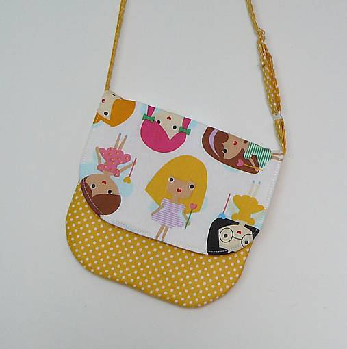 87c121d339 Detská kabelka princezničky   LEAN - SAShE.sk - Handmade Detské tašky