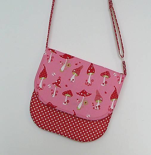 ae1b3fca66 Detská kabelka hríbiková   LEAN - SAShE.sk - Handmade Detské tašky
