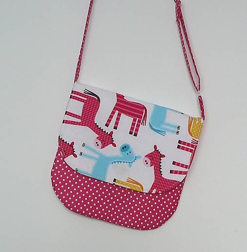 4d1d030c05 Detská kabelka koníková   LEAN - SAShE.sk - Handmade Detské tašky