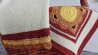 Úžitkový textil - Sestry chňapky - veselé decenťáčky - 8063546_