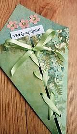 Papiernictvo - blahoželanie s viazačkou - 8061909_