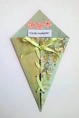Papiernictvo - blahoželanie s viazačkou - 8061910_