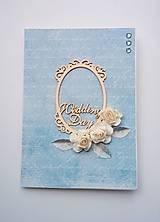 Papiernictvo - svadobné blahoželanie - 8064664_