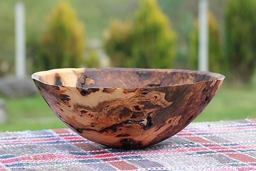 Nádoby - dekoračná miska z bukového dreva - 8064105_