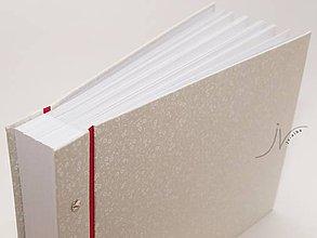 Papiernictvo - Svatební fotoalbum - 8065233_