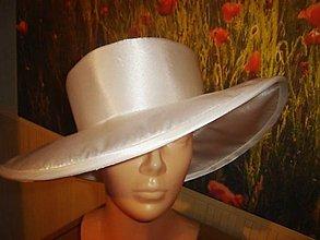 Čiapky - Spoločenský klobúk - 8062592_