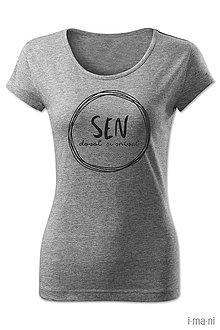 Tričká - Dámske tričko SEN - 8063564_