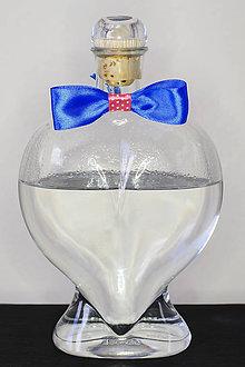 Darčeky pre svadobčanov - motýlik na fľaše - 8066996_