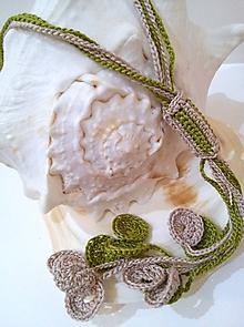 Náhrdelníky - Náhrdelník malej morskej víly - 8066544_