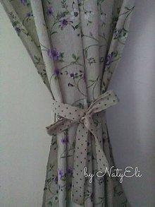 Úžitkový textil - Závesy krátke - 8067811_