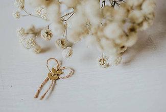 Pierka - Vintage svadobné pierka - 8067879_