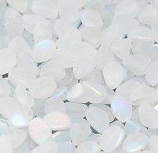 Korálky - Korálky Pohánka Biela matná - 8067752_
