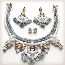 Náušnice - Luxury pigeon - náušnice - 8069405_