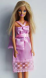 b15692a57ffb Nočná košieľka + vankúšik pre Barbie - 8068262