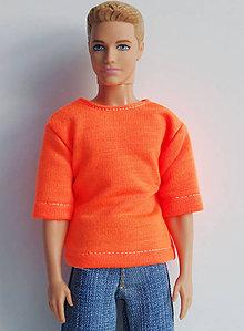1d4185813329 Hračky - Neónové tričko pre KENA- oranžové - 8069224