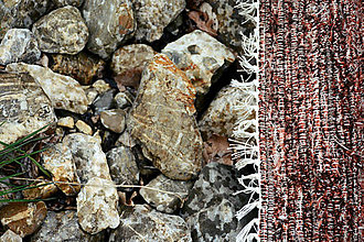 Úžitkový textil - tehlový koberec - 8066594_