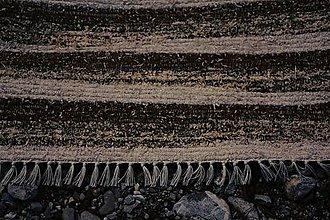 Úžitkový textil - hnedý koberec - 8066619_