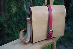 Veľké tašky - Pánska kožená kabela na najdôležitejšie veci - 8065787_