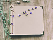 Fotoalbum klasický papierový obal so štruktúrou plátna (béžový)