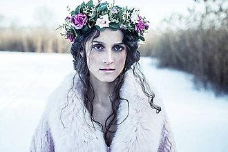 Ozdoby do vlasov - Frozelake queen - 8069330_