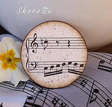 Odznaky/Brošne - Stará hudba / brošňa 2 - 8068776_