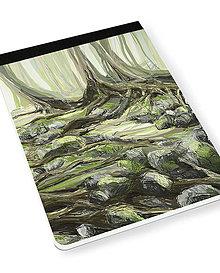 Papiernictvo - Skicár B5 Ponad korene - 8067575_