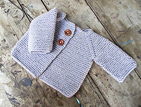 Detské oblečenie - Svetrík (25€) (fialový...SKLADOM) - 8068844_