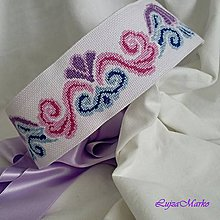 Opasky - Ornamenty dúhy - zľava z 40€ - 8067955_