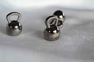 Komponenty - Kovový prívesok kettlebel z 3.30 na 1.30€/ks - 8067599_