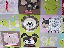 Textil - látka na pexeso -farebná - 8067384_