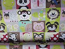 Textil - látka na pexeso -farebná - 8067385_