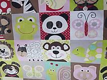 Textil - látka na pexeso -farebná - 8067387_