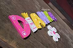 Tabuľky - drevené písmenká - 8069714_