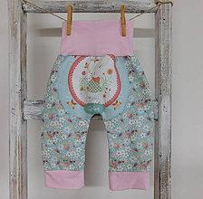 Detské oblečenie - Jarná lúka...nohavice 1-6 M - 8073236_
