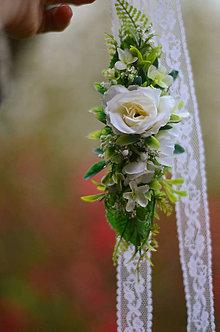 Opasky - Vôňa bielych ruží - 8071773_