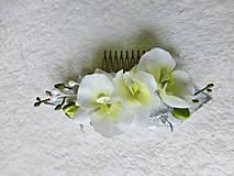 Ozdoby do vlasov - Svadobný hrebienok - 8072819_