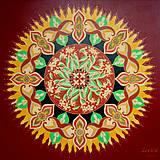 Obrazy - Mandala Saraca´s Essence Sun (Nepredajný obraz) - 8072154_