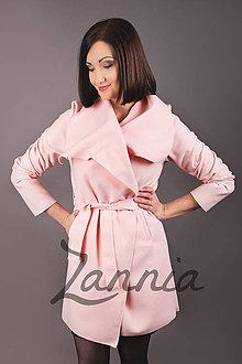 Kabáty - Kabát - pastelovo ružová - 8072881_