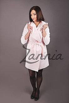 Kabáty - Kabát - ružová 2 - 8073033_