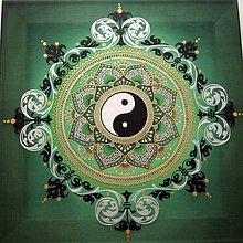 Obrazy - Mandala zdravia, bohatstva a hojnosti - 8070807_