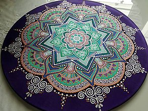 Dekorácie - Mandala zmierenia a vnútorného pokoja II. - 8071145_