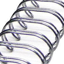 Pomôcky/Nástroje - Zutter Hrebene na viazanie - strieborné, 0,95cm (3/8 inch) ZT2824 - 8070005_