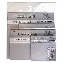 Polotovary - Zutter Akrylové obaly - 7,5x5 (12,7x 17,78cm) - 8070239_